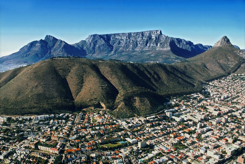 Cape Town City & Table Montain and Lion's Head