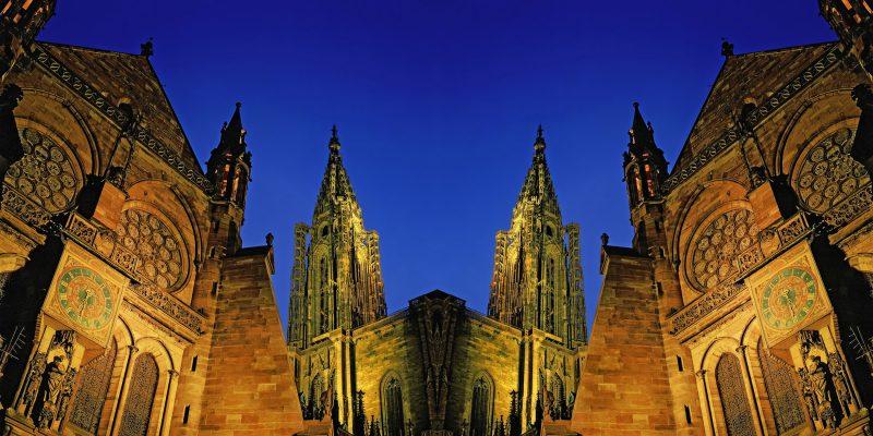 Strasbourg, Horloge Astronomique et Cathédrale Notre Dame de Strasbourg