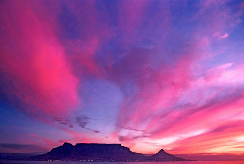 Table Montain and Lion's Head