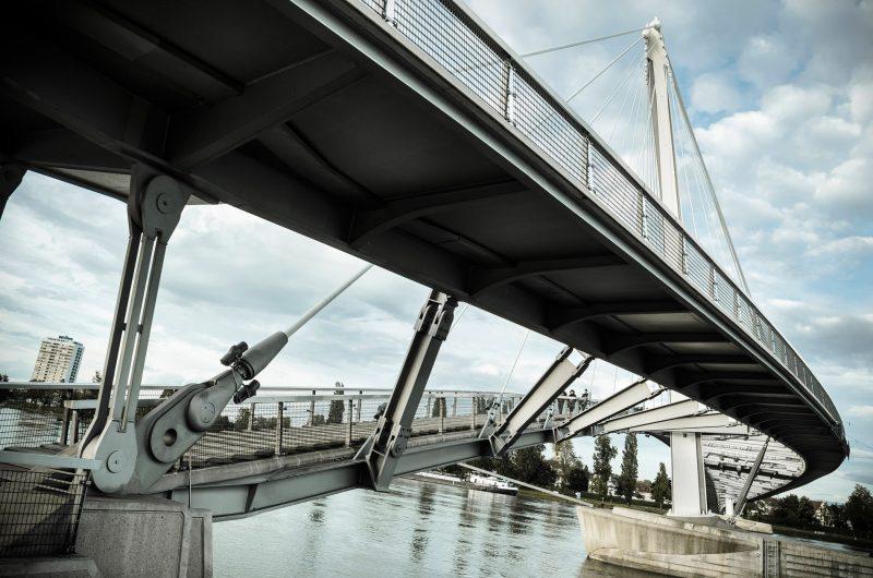 Strasbourg Pont des Deux Rives
