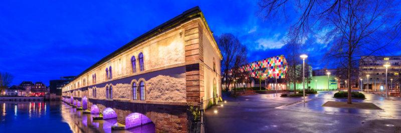 Strasbourg Ponts Couverts & Musée d'Art Moderne