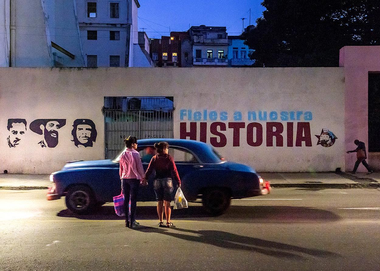 """Cuba """"Hay que luchar"""""""